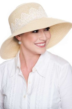 Farah Lace Sun Hat | Spring & Summer Hats for Women