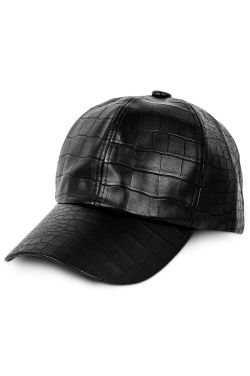 Faux Gator Skin Baseball Cap | Baseball Caps for Women