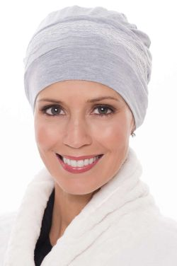 Cardani Feather Lite Sleep Cap | Viscose from Bamboo Sleeping Cap for Women