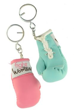 Cancer Awareness Keychain - Fight Like A Woman
