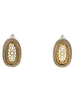 Filigree Oval Earrings | Nickel & Lead Free Fashion Earrings