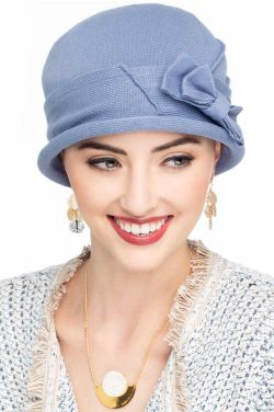 Cotton Flapper Hat