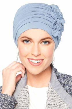 Large Flapper Turban | Cardani® Viscose from Bamboo Hat for Large Heads