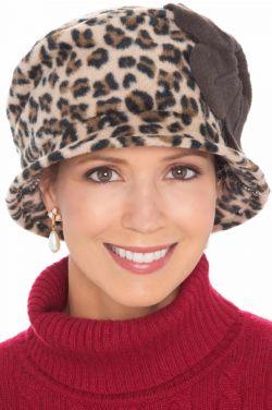 Fleece Leona Cloche Hat | Vintage Winter Hats