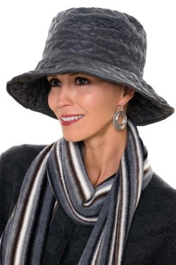 Fleece Lined All Weather Snow & Rain Hat | Rain Hats for Women