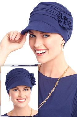 Florette Newsboy Hat in Luxury Viscose from Bamboo by Cardani®