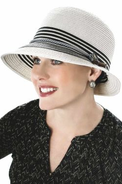 Nautical Cloche Hat for Women