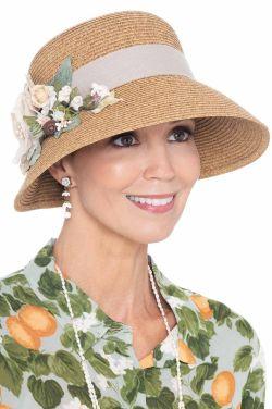 Freja Bouquet Cloche Hat   Made in USA