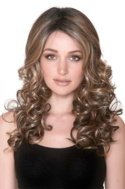 French Curl by Belle Tress Wigs - Heat Friendly Synthetic, Hand Tied, Lace Front Wig