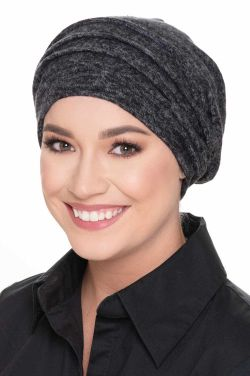 Plush French Terry Slouchy Snood Hat | Slouchy Beanies for Women