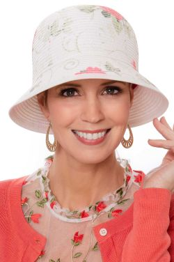 Rose Garden Cloche Hat | Summer Hats for Women