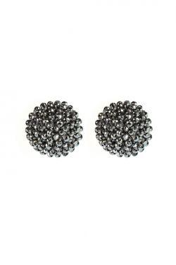Glamour Beaded Stud Earrings | Nickel Free & Hypoallergenic Earrings