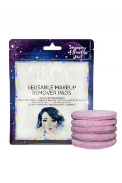 GLOV Moon Pads Reusable Makeup Remover | 5 Pads | Gentle and Hypoallergenic