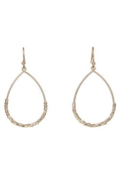 Gold-Dipped Teardrop Earrings | Hypoallergenic and Nickel-Free