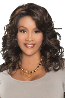 Goldie by Vivica Fox Wigs - Heat Friendly Synthetic, Lace Front Wig