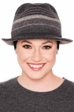 Gracen Wool Blend Fedora | Winter Hats for Women