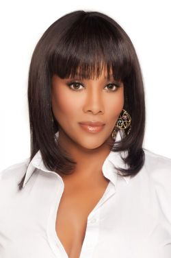 H202-V by Vivica Fox Wigs - Human Hair Wig