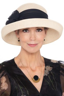 Hanneli Sparkle Rose Kettle Hat   Made in USA