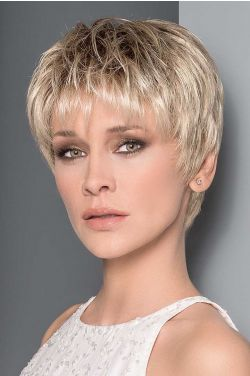 Aura by Ellen Wille Wigs - Mono Top, Hand Tied, Extended Lace Front Wig