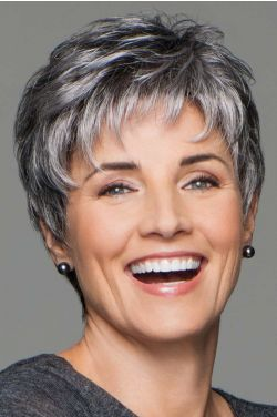 Incentive by Eva Gabor Wigs - Lace Front, Hand Tied, Monofilament Wig