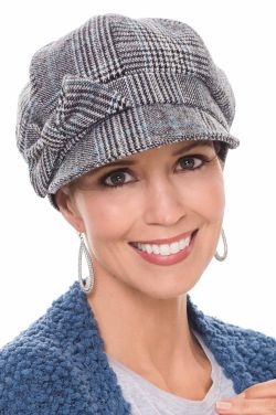Jadyn Newsboy Hat in Plaid