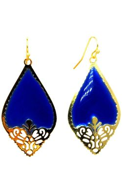 Royal Cut Gold-Plated Dangle Earrings | Gold Tone Nickel & Lead Free Earrings