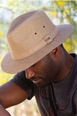 Khaki Toyo Safari Hat | Sun Protection Hats for Men