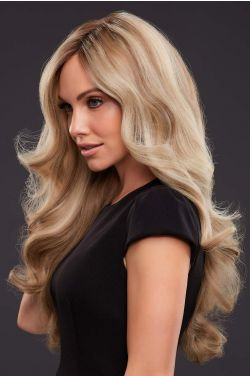 Kim by Jon Renau Wigs - Lace Front, Single Monofilament, Hand Tied, Remy Human Hair Wig