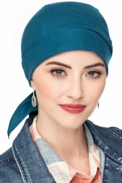 100% Cotton Knit Headwrap Durag | Doo Rag for Women