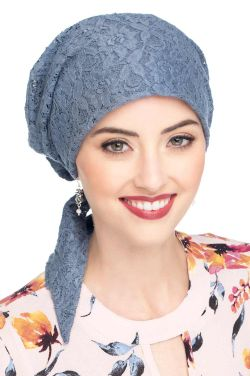 Cardani Lace Easy to Tie (E-T-T) Scarf Cap