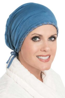 Laced Slouch Cap in Luxury Bamboo