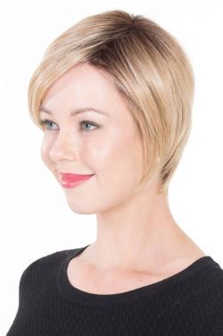 Lace Front Mono Topper 6 by Belle Tress Wigs - Lace Front, Monofilament Topper