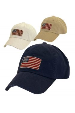 USA Flag Baseball Cap | Unisex Distressed Baseball Cap