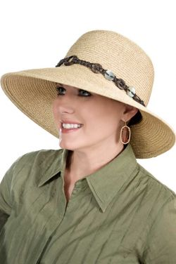 Brimmed Juliette Sun Hat | Summer Hats for Women