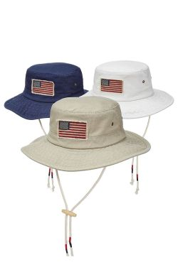 USA Boonie Hat | Sun Protection Brimmed Men's Hat