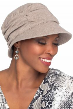 Lauren UPF Visor Hat | Cardani 100% Cotton Hats | Aloe Vera Liner | UPF 50+ Sun Protection