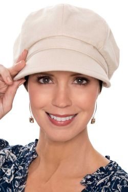 Linen Bonita Newsboy Cap | Newsboys for Women