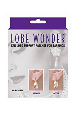 Lobe Wonder | Ear Lobe Support Patches for Earrings |