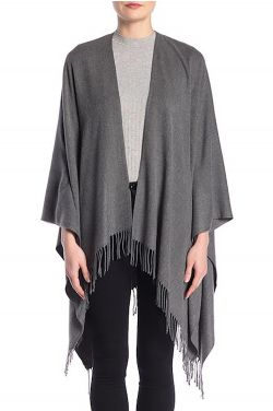 Soft & Cozy Solid Ruana | Wrap for Women