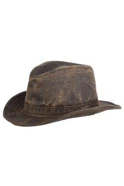Men's Indiana Jones Hat | Cotton Fedora Hat for Guys