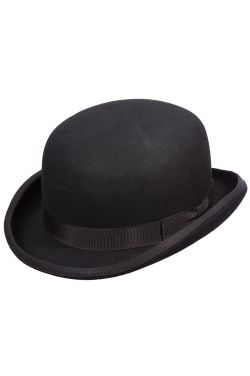 Gatsby Wool Bowler Hat | 1920s Hats for Guys