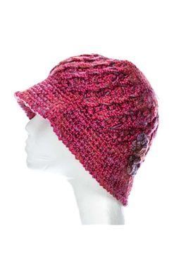 Hand Crocheted Lizzie Multi Crochet Bucket Hat | Womens Fall & Winter Hat