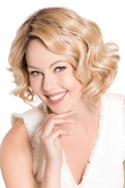 M&M by Belle Tress Wigs - Heat Friendly Synthetic, Lace Front, Partial Monofilament Wig