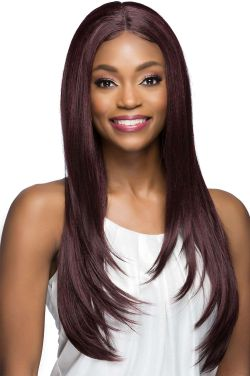 Manon by Vivica Fox Wigs - Heat Friendly Synthetic, Lace Front, Monofilament Part Wig