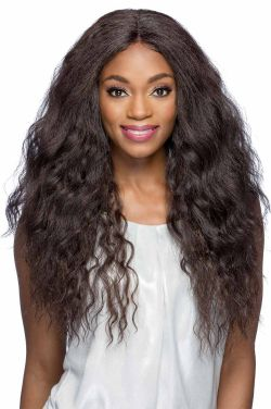Marcia by Vivica Fox Wigs - Heat Friendly Synthetic, Lace Front, Monofilament Part Wig