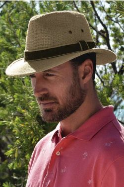 Fedora Hats for Men | Mens Hemp Fedora Hat