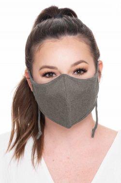 Unisex Charcoal Fibre Face Mask | Bamboo Charcoal Fiber Medical & Surgical Mask for Viruses