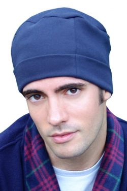 100% Cotton Mens Night Cap - Soft Sleep Hat - Sleeping Cap