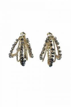 Mercury Beaded Hoop Earrings | Nickel & Lead Free Earrings