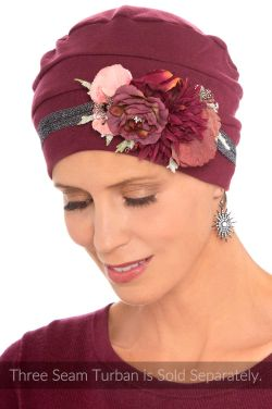 Metallic Rose Bouquet Headband | Headband & Hat Accessory |